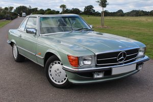 1988 Mercedes 300 SL, Galvanised body, with Hard top