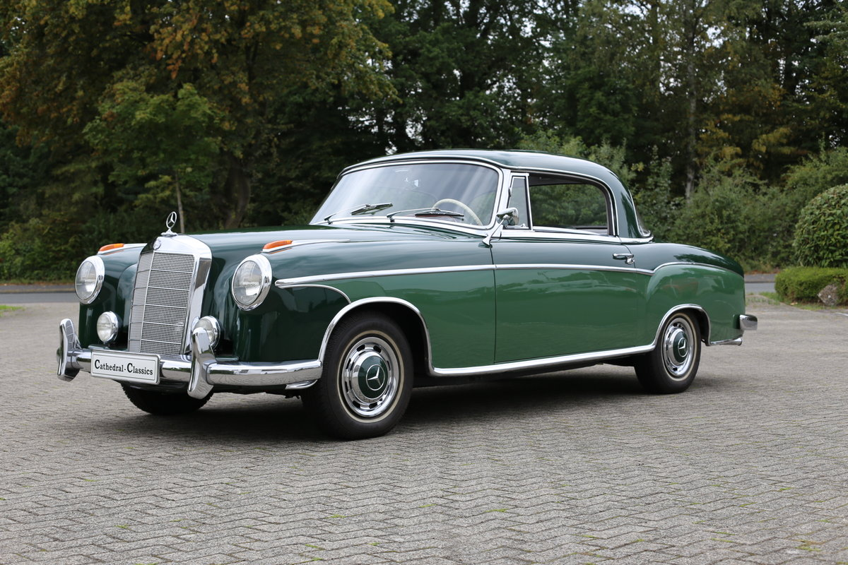 1959 The best Mercedes 220 SE Coupe (W128) Ponton available? For Sale (picture 1 of 6)