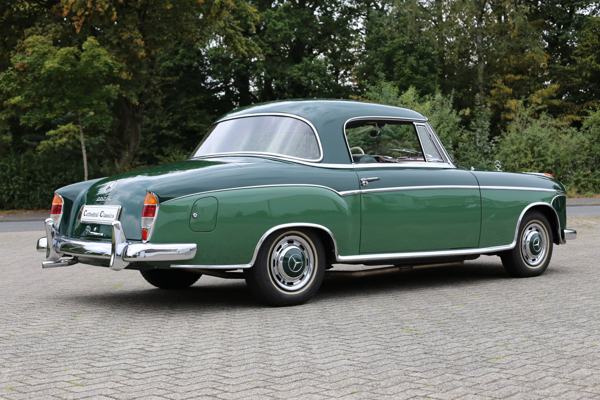1959 The best Mercedes 220 SE Coupe (W128) Ponton available? For Sale (picture 3 of 6)