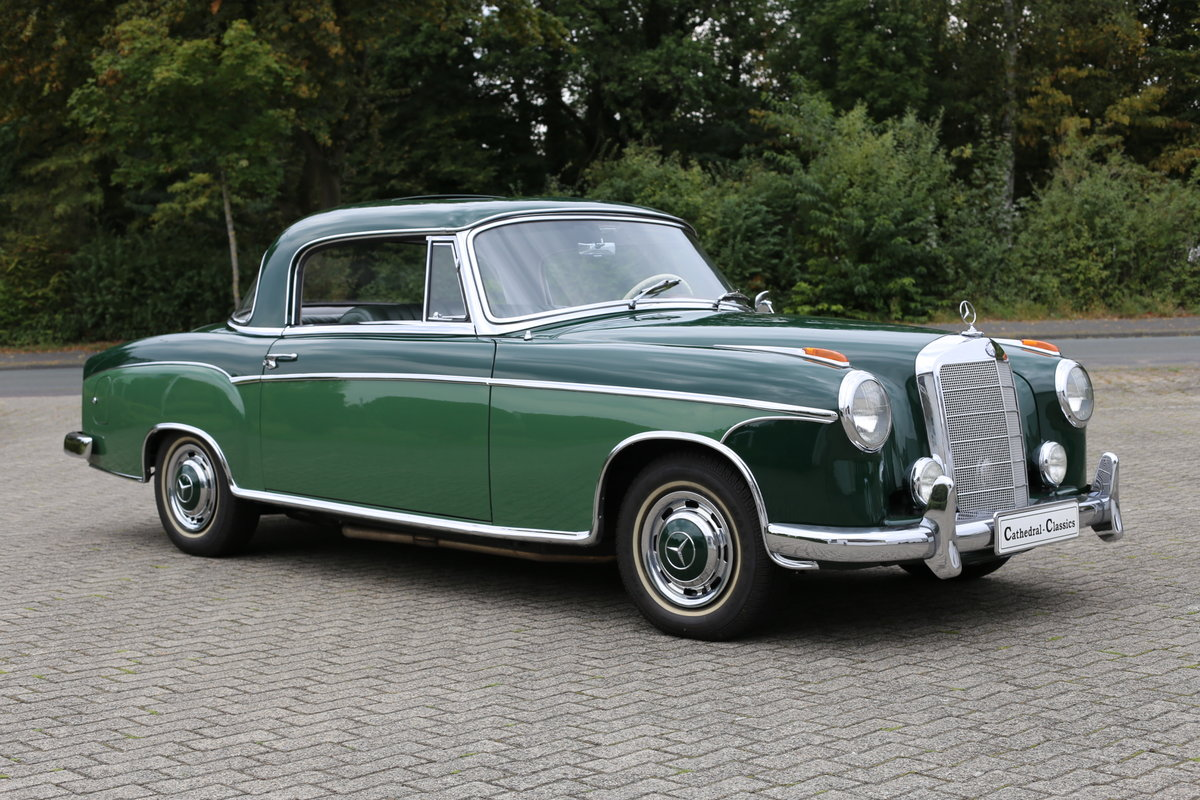 1959 The best Mercedes 220 SE Coupe (W128) Ponton available? For Sale (picture 5 of 6)