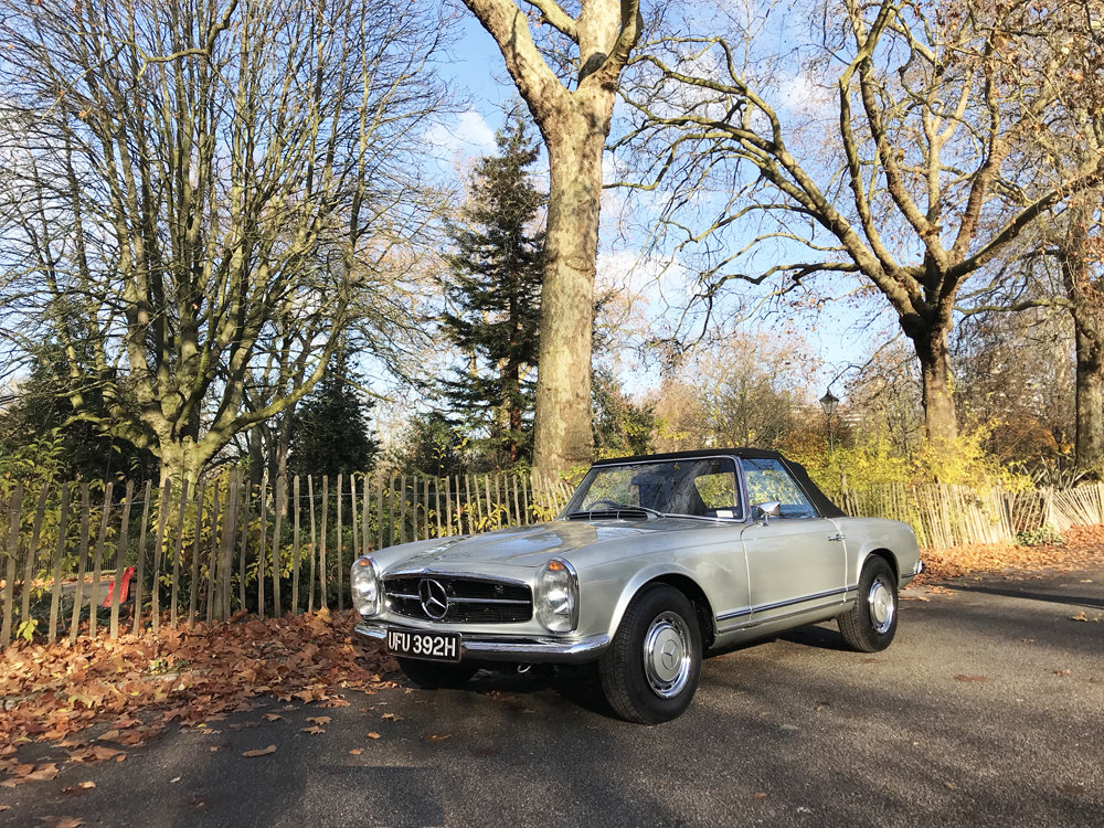 1970 Mercedes Benz 280SL - completely restored For Sale (picture 1 of 24)