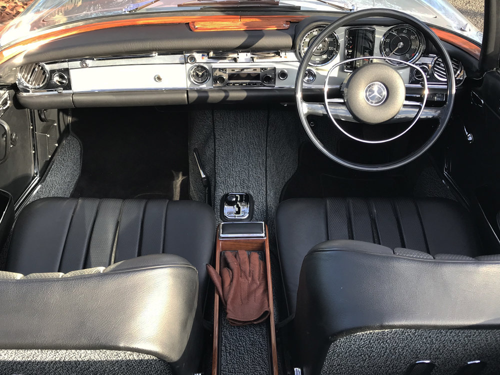 1970 Mercedes Benz 280SL - completely restored For Sale (picture 2 of 24)