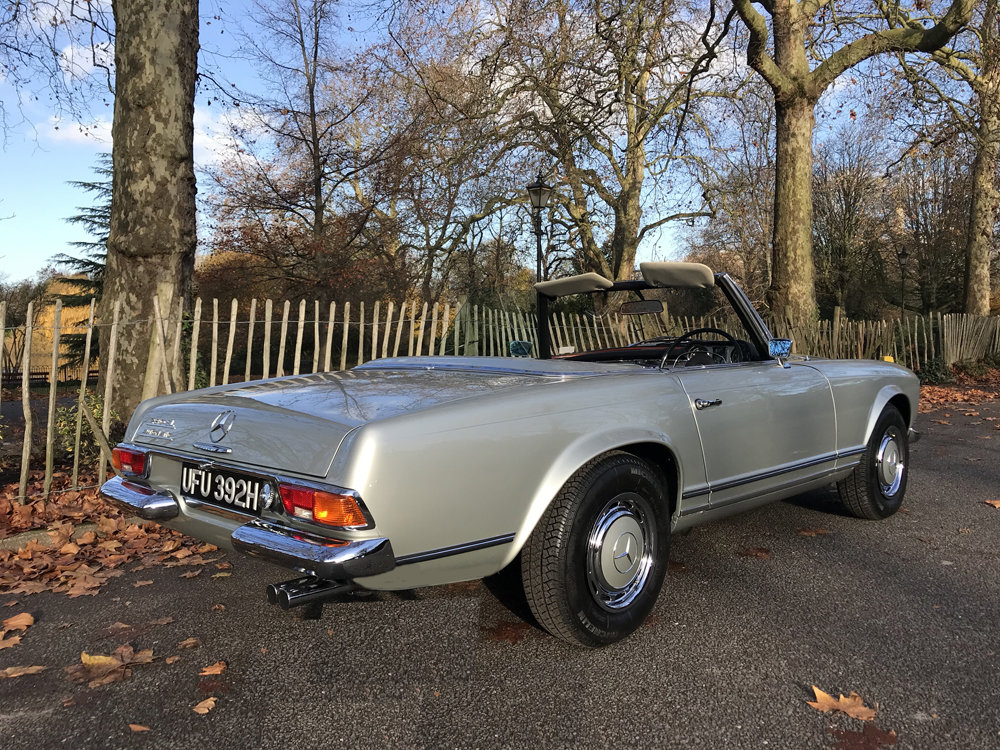 1970 Mercedes Benz 280SL - completely restored For Sale (picture 3 of 24)