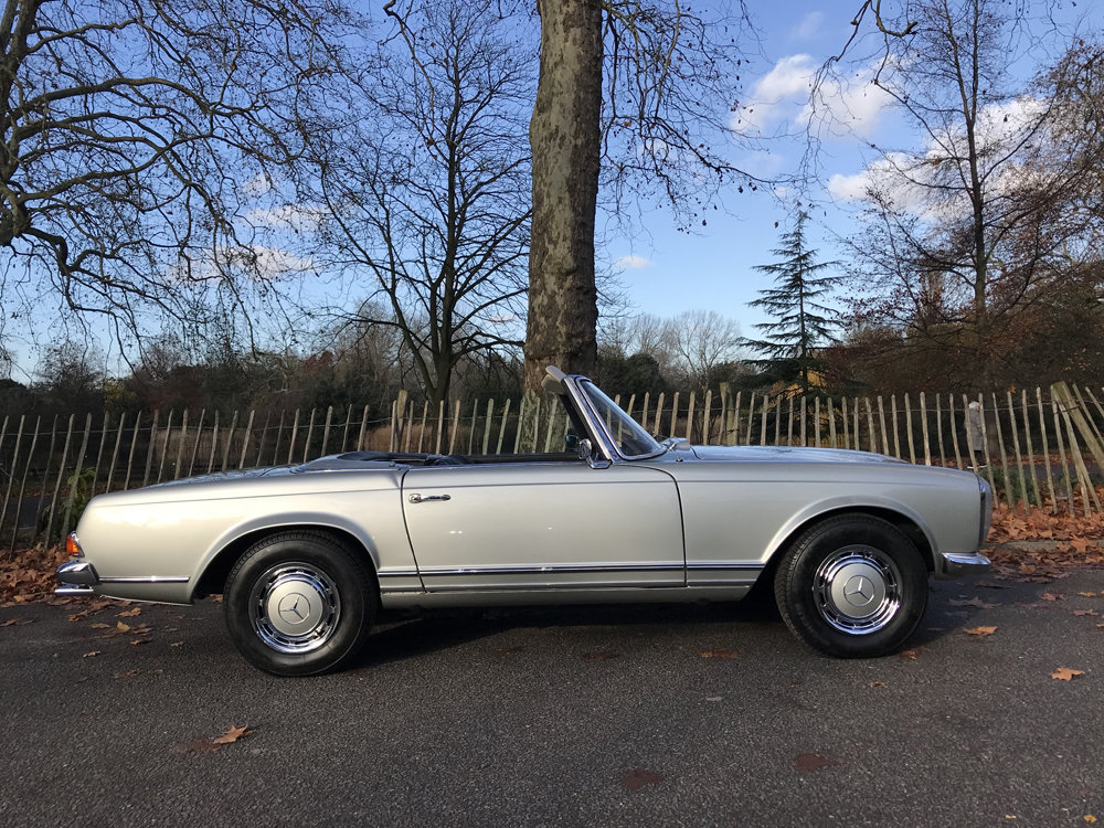 1970 Mercedes Benz 280SL - completely restored For Sale (picture 5 of 24)