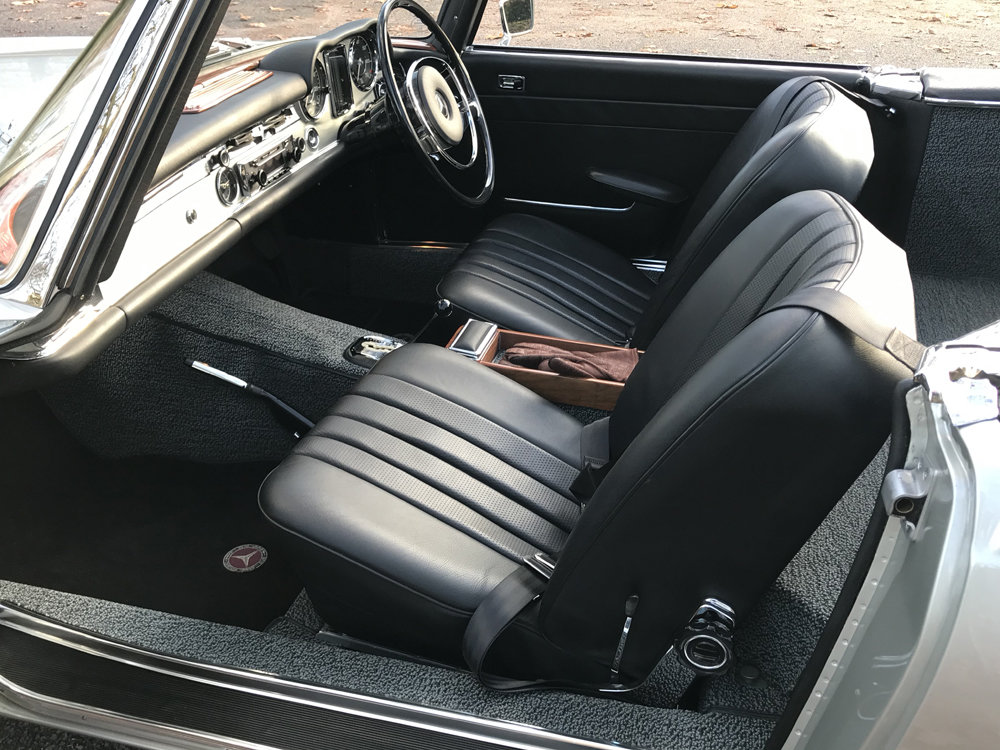 1970 Mercedes Benz 280SL - completely restored For Sale (picture 6 of 24)