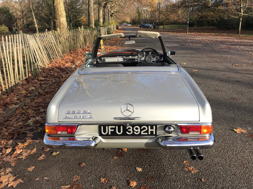 1970 Mercedes Benz 280SL - completely restored SOLD (picture 7 of 24)