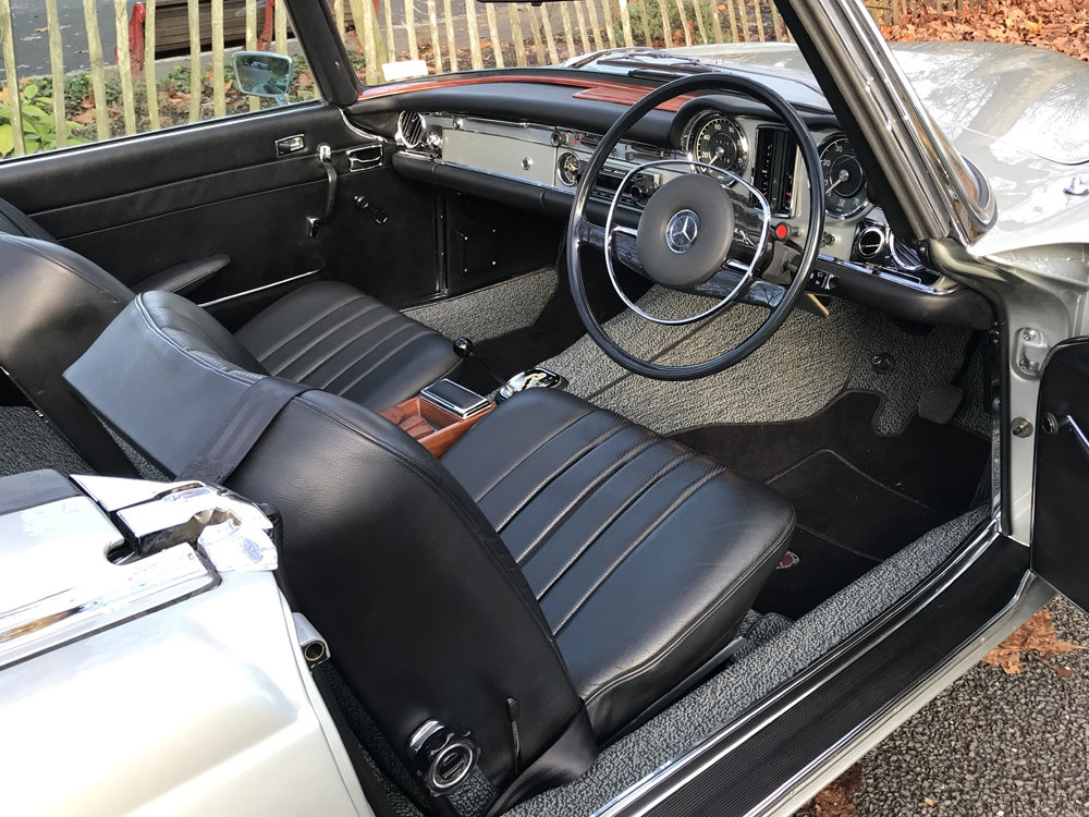 1970 Mercedes Benz 280SL - completely restored For Sale (picture 8 of 24)