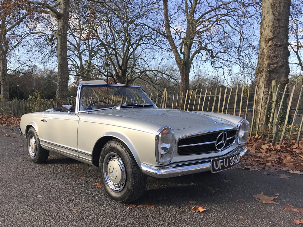 1970 Mercedes Benz 280SL - completely restored SOLD (picture 9 of 24)