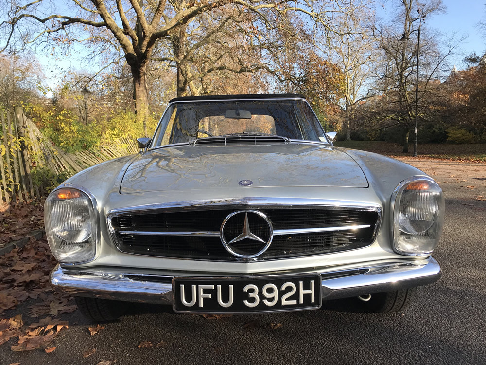 1970 Mercedes Benz 280SL - completely restored For Sale (picture 11 of 24)