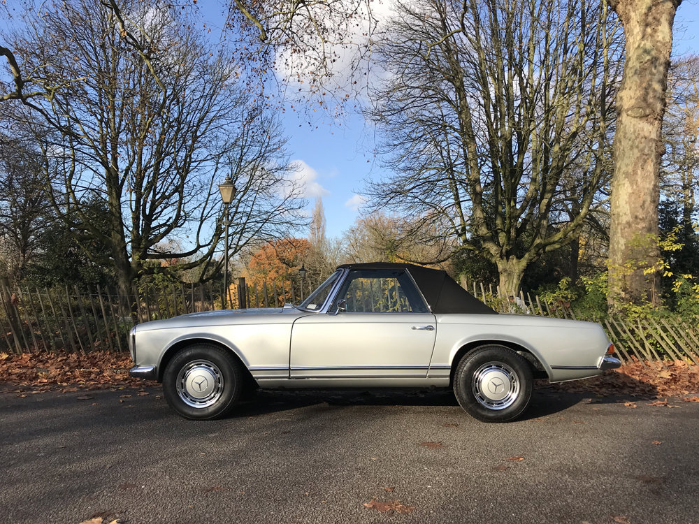 1970 Mercedes Benz 280SL - completely restored SOLD (picture 12 of 24)