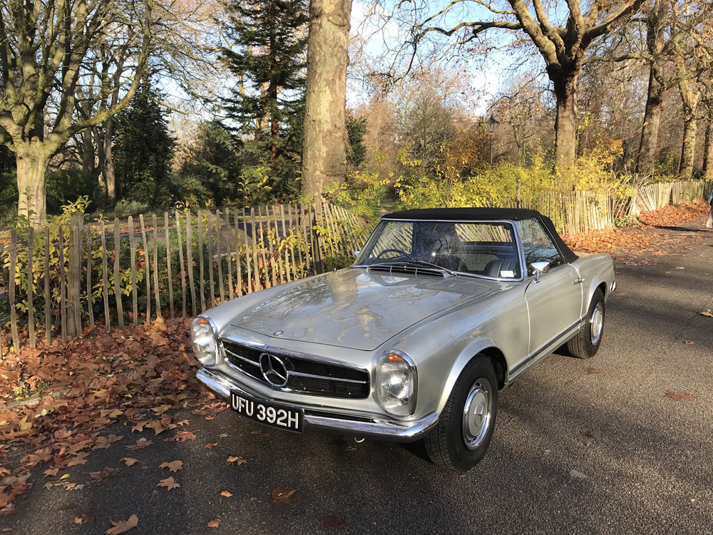 1970 Mercedes Benz 280SL - completely restored SOLD (picture 14 of 24)