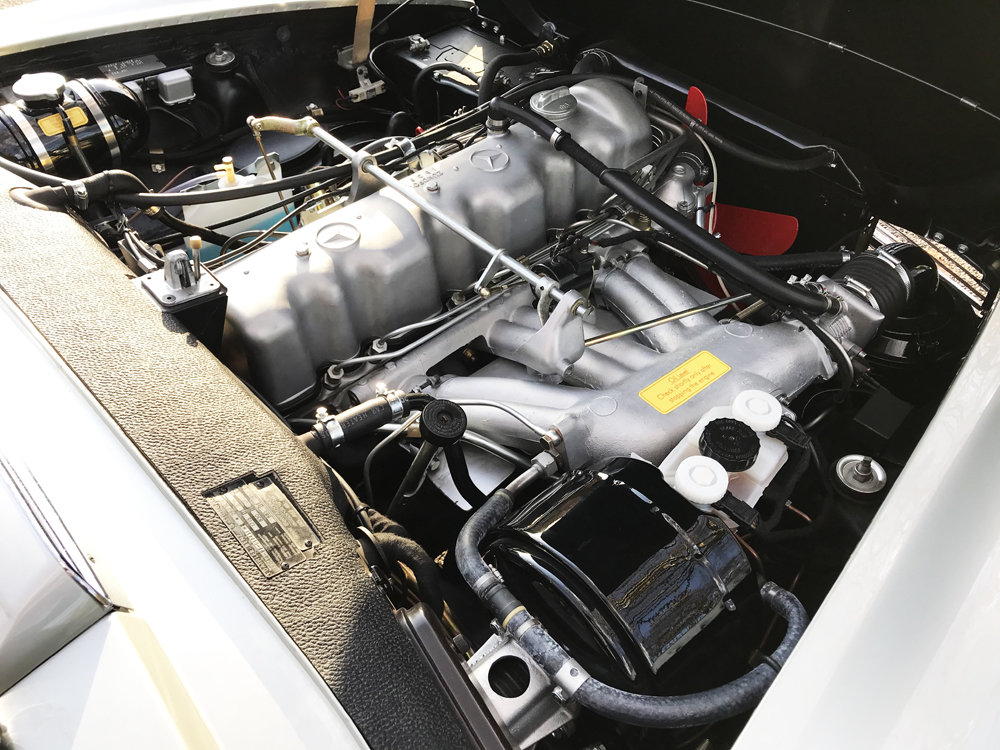 1970 Mercedes Benz 280SL - completely restored SOLD (picture 19 of 24)