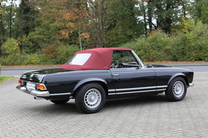 A fully restored, early production 1968 W113 Mercedes 280 SL