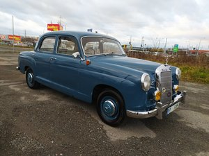 1959 Mercedes-Benz W120 Ponton 180 RHD For Sale