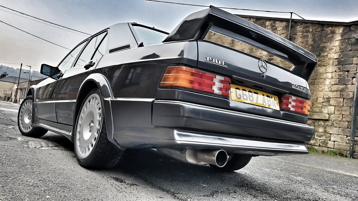 1989 *SOLD* Mercedes 190E Cosworth 2.5 Manual *SOLD* For Sale (picture 1 of 6)
