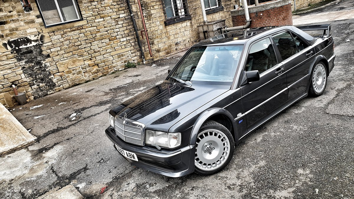 1989 *SOLD* Mercedes 190E Cosworth 2.5 Manual *SOLD* For Sale (picture 3 of 6)