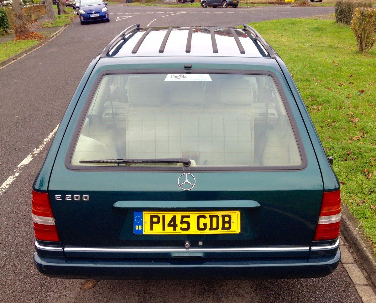 1996 Mercedes W124 200TE 7 Seater Estate E Class FSH SOLD (picture 3 of 6)