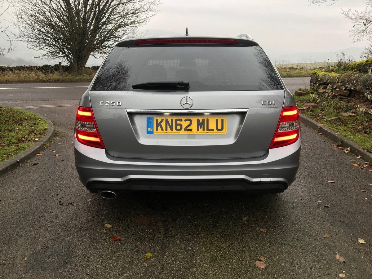 2012 Mercedes C250 CDI AMG Sport Plus Auto Estate For Sale (picture 4 of 6)