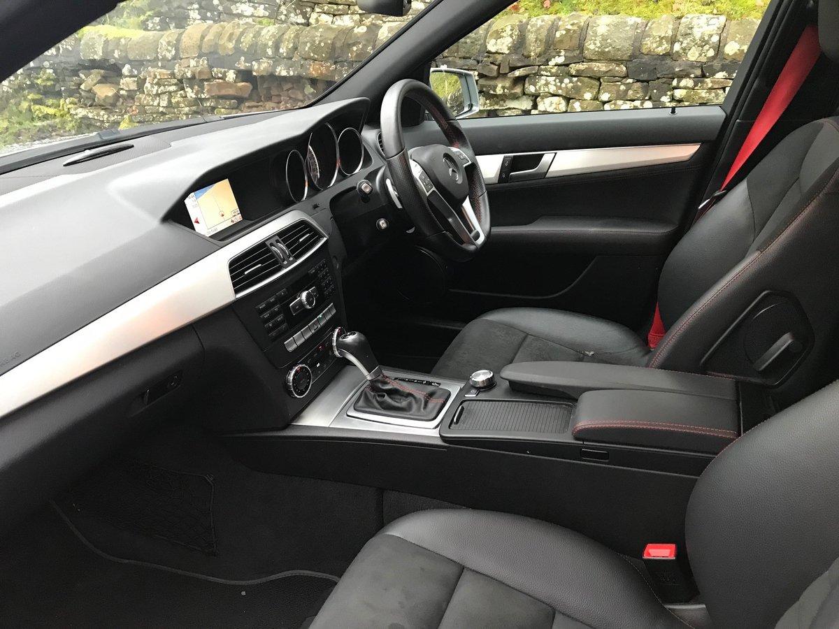 2012 Mercedes C250 CDI AMG Sport Plus Auto Estate For Sale (picture 5 of 6)