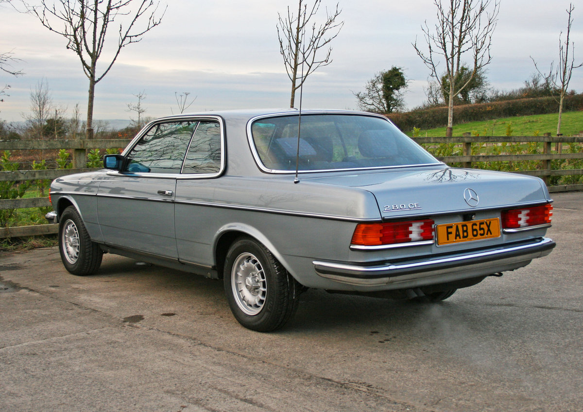 1981 Mercedes Benz 280CE (W123) For Sale (picture 3 of 6)