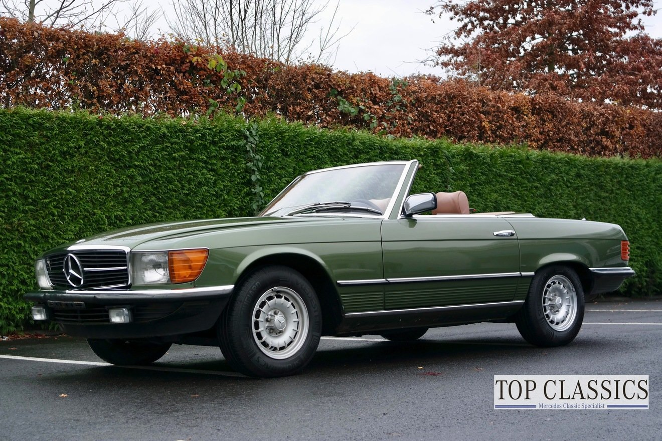 1981 Mercedes 280SL For Sale (picture 1 of 6)
