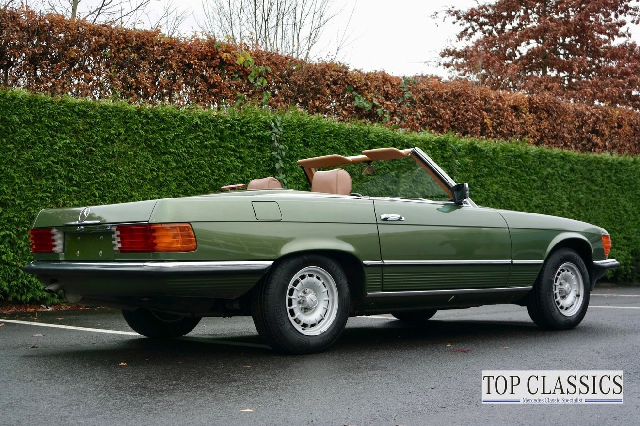 1981 Mercedes 280SL For Sale (picture 2 of 6)