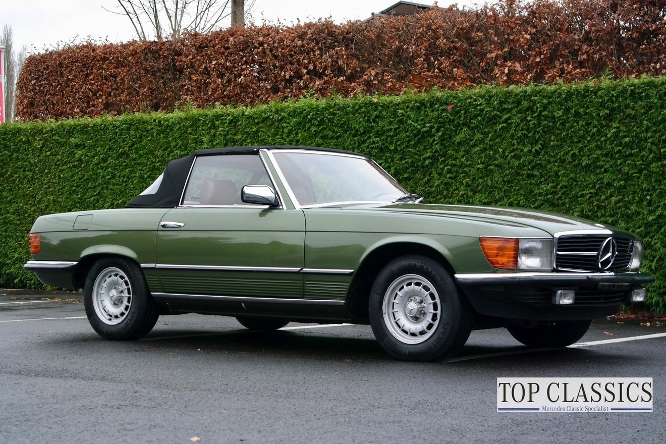 1981 Mercedes 280SL For Sale (picture 3 of 6)