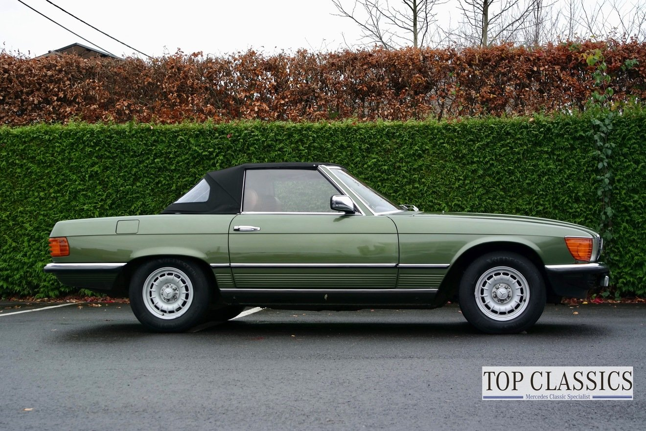 1981 Mercedes 280SL For Sale (picture 4 of 6)