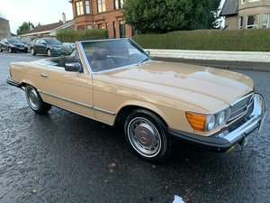 1976 Mercedes sl450 us import ,low miles,histor