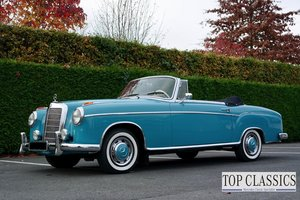 1956 Mercedes 220S Ponton, original car