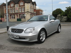 2001 Mercedes-benz slk 200 automatic For Sale