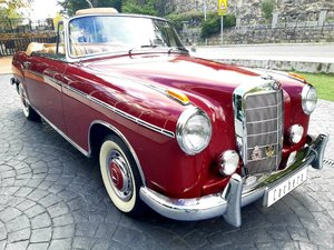 1960 Mercedes-Benz 220S Ponton Cabrio For Sale