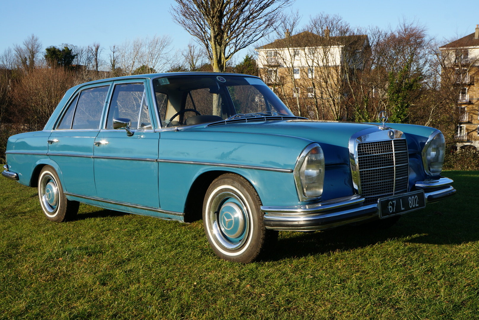 1967 Mercedes 250SE automatic power steering  For Sale (picture 1 of 6)