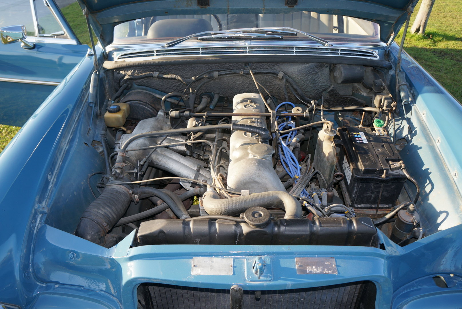 1967 Mercedes 250SE automatic power steering  For Sale (picture 6 of 6)