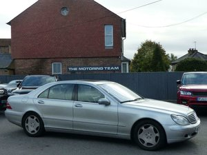 2000 MERCEDES-BENZ S600 6.0 V12 LWB - LHD LEFT HAND DRIVE For Sale