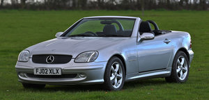 2002 Mercedes-Benz SLK 2.3 SLK230 Kompressor