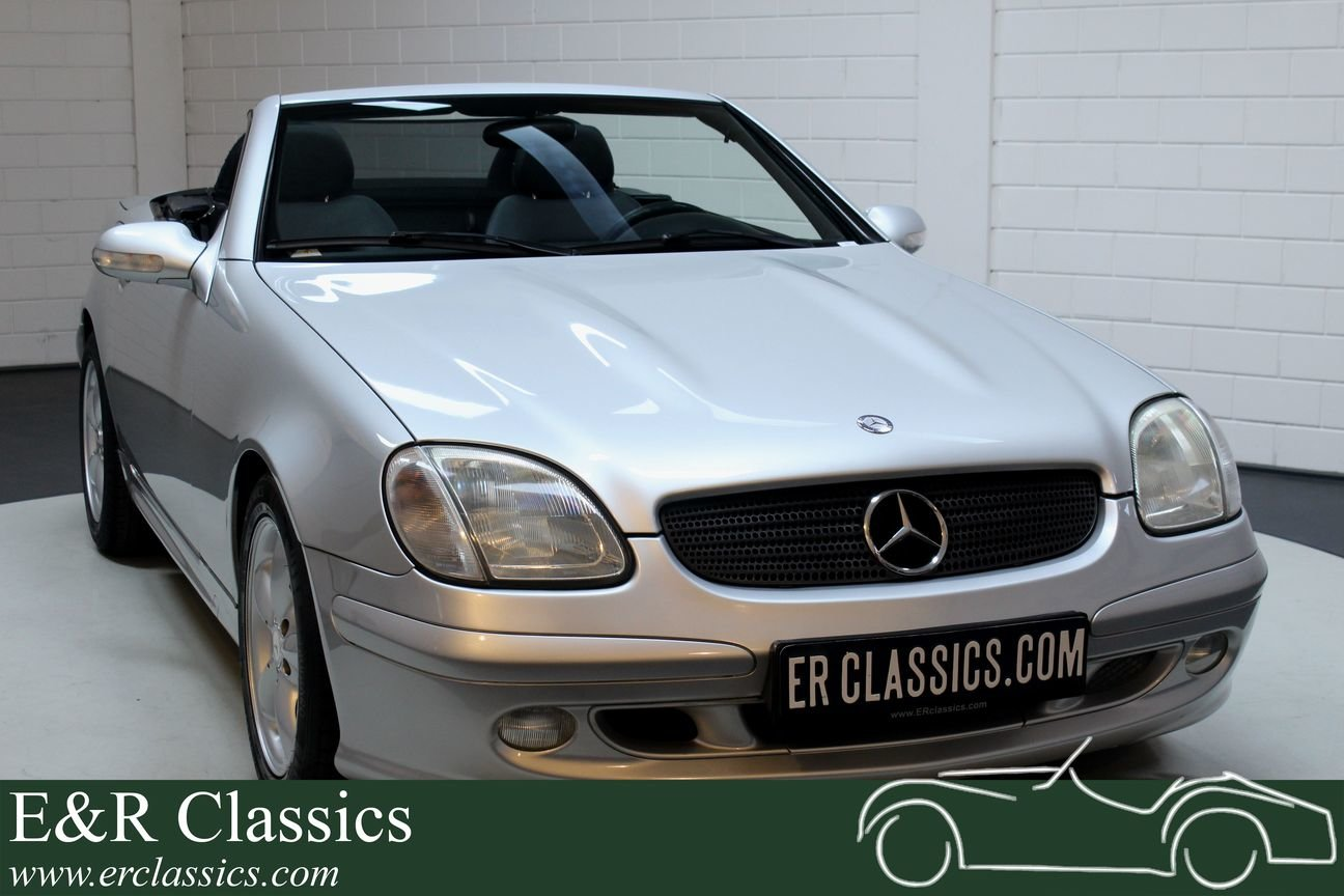 Mercedes Benz SLK 320 2001 Only 91.423 km For Sale (picture 1 of 6)