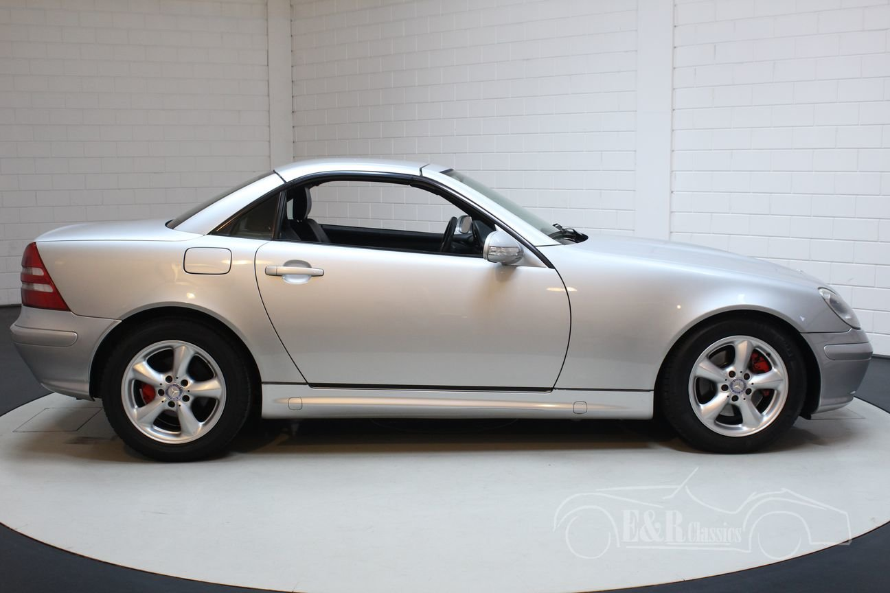 Mercedes Benz SLK 320 2001 Only 91.423 km For Sale (picture 6 of 6)