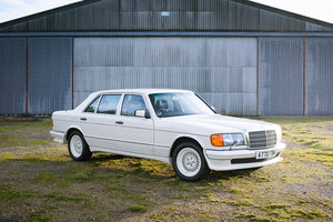 1983 Mercedes W126 500SEL - 2 Owners - 20k Miles From New For Sale