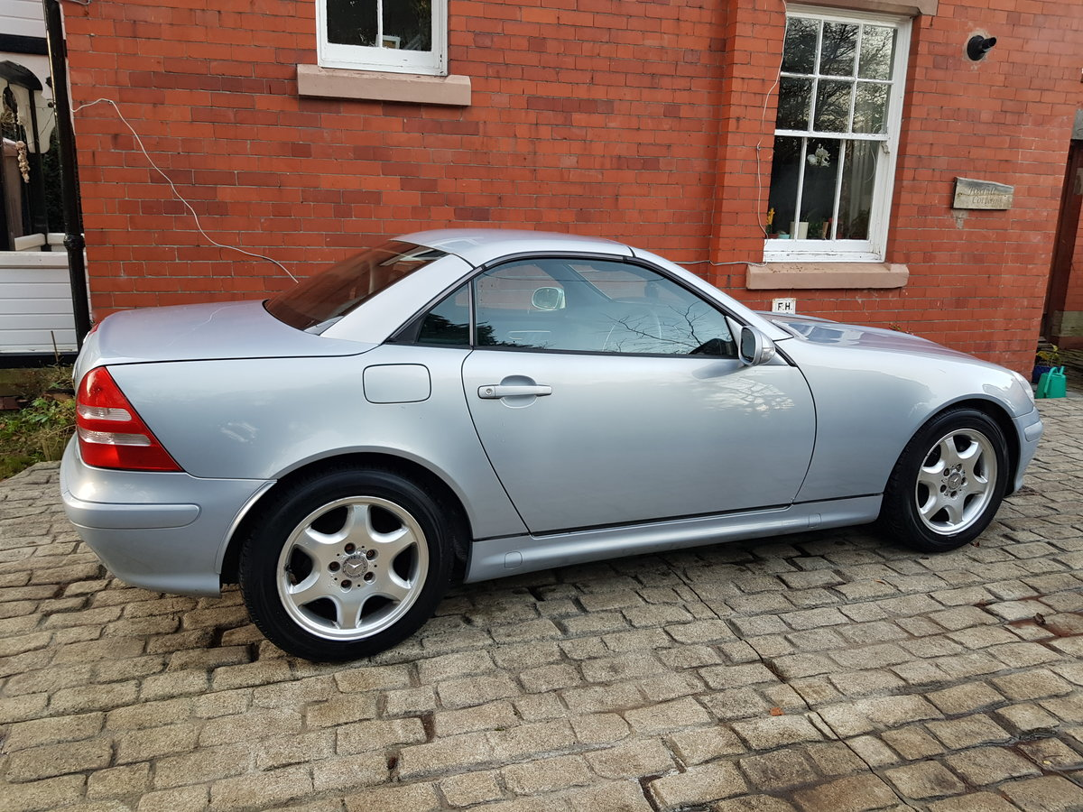 2002 SLK 230 convertible Very low miles For Sale (picture 1 of 6)