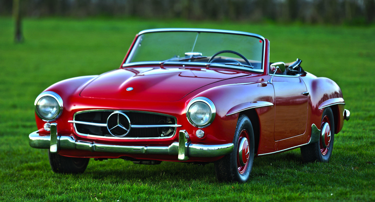 1957 Mercedes Benz 190 SL For Sale (picture 1 of 6)