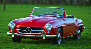 1957 Mercedes Benz 190 SL For Sale