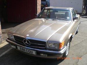 1987 MERDEDES 300SL AUTO