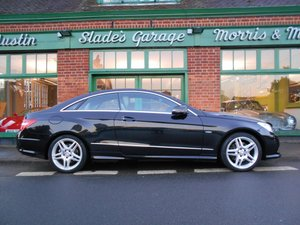 2012 Mercedes-Benz E350 CDI Coupe