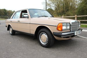 1983 Mercedes Benz W123 240 D Manual Classic Mercedes Benz