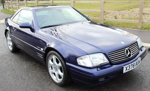 "2000 Mercedes SL320 'Edition"" 51,900 miles from new."