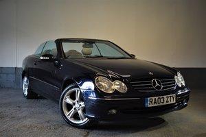 2003 Mercedes CLK240 Cabriolet Avantgarde (W209)