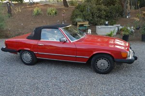 1981 mercedes sl380   lhd  rust free shell  usa import