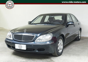 2000 Mercedes Benz Classe S500 L *Only 35.000Km *One owner * Mint For Sale