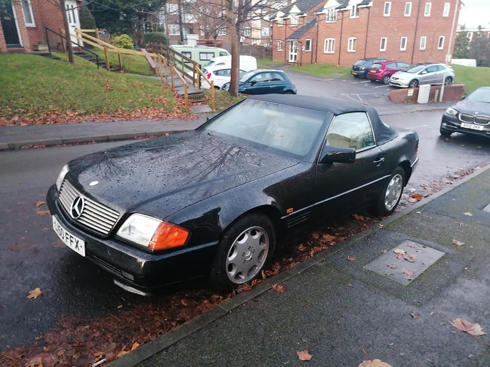 1994 Mercedes Benz SL280, Low Milage, FSH, MOT For Sale (picture 4 of 6)